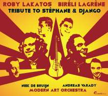 Roby Lakatos & Biréli Lagrène: Tribute To Stéphane & Django: Live Marriott Hotel, Budapest 2014, Super Audio CD