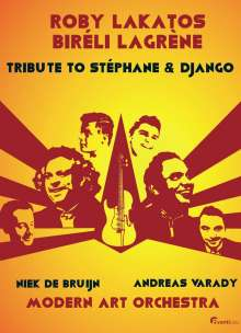 Roby Lakatos & Biréli Lagrène: Tribute To Stéphane & Django: Live Marriott Hotel, Budapest 2014, DVD