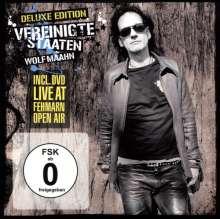 Wolf Maahn: Vereinigte Staaten (Deluxe Edition) (CD + DVD), 1 CD und 1 DVD