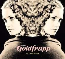 Goldfrapp: Felt Mountain (180g) (White Vinyl), LP