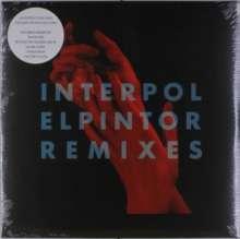 Interpol: El Pintor Remixes (Limited-Edition) (Clear Vinyl), LP