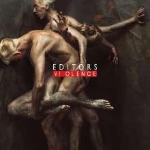 Editors: Violence (Limited-Edition) (Red Vinyl) (mit signiertem Foto, exklusiv für jpc), LP