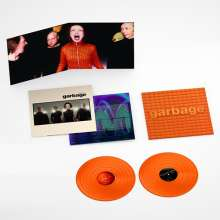 Garbage: Version 2.0 (remastered) (20th Anniversary-Limited-Edition) (Orange Vinyl), 2 LPs