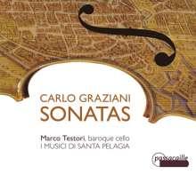 Carlo Graziani (1725-1787): Sonate per Violoncello e Basso, CD