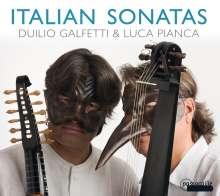 Duilio Galfetti & Luca Pianca - Italian Sonatas, CD