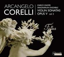 Arcangelo Corelli (1653-1713): Sonaten op.5 Vol.2, CD