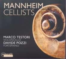 Marco Testori & Davide Pozzi - Mannheim Cellists, CD