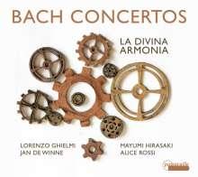Johann Sebastian Bach (1685-1750): Tripelkonzert BWV 1064, CD