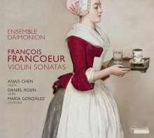 Francois Francoeur (1698-1787): Violinsonaten Nr.2,4,6,7,9,10, CD