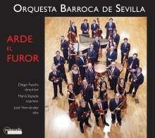 Arde El Furor, CD