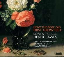 Henry Lawes (1596-1662): Lieder, CD