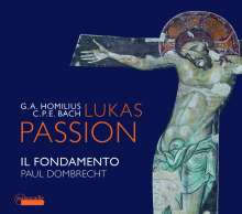 Gottfried August Homilius (1714-1785): Lukas-Passion (1775), CD