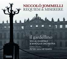 Niccolo Jommelli (1714-1774): Requiem, CD