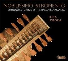 Luca Pianca - Nobilissimo Istromento, CD