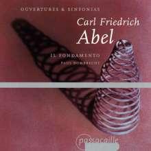 Carl Friedrich Abel (1723-1787): Symphonien & Ouvertüren, CD