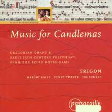 Music for Candlemas, CD