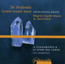 Franciscus Krafft (1727-1795): De Profundis, CD