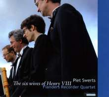 Flanders Recorder Quartet - The 6 Wives of Henry VIII, CD