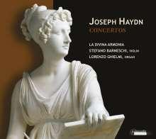 Joseph Haydn (1732-1809): Orgelkonzerte H18 Nr.2 & 10, CD