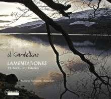 Jan Dismas Zelenka (1679-1745): Lamentationes I & II, CD