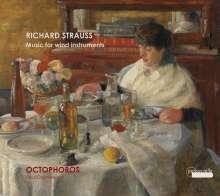 Richard Strauss (1864-1949): Werke für Bläser, CD