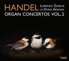 Georg Friedrich Händel (1685-1759): Orgelkonzerte Nr.11,13-15, CD