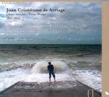 Juan Arriaga (1806-1826): Obras Vocales - Vokalwerke, CD
