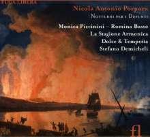 Nicola Antonio Porpora (1686-1768): Notturni per i defunti, CD