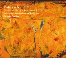 Bohuslav Martinu (1890-1959): Symphonie Nr.4, CD