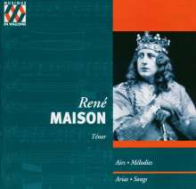 Rene Maison - Historische Tenorarien, CD