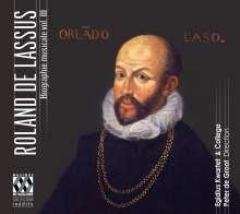 Orlando di Lasso (Lassus) (1532-1594): Biographie musicale Vol.3, CD