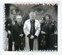 """Louis Andriessen (geb. 1939): Streichquartett """"Garden of Eros"""", CD"""