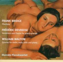William Walton (1902-1983): Klavierquartett, CD