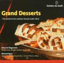 "Johann Ludwig Dussek (1760-1812): Werke für Harfe & Klavier ""Grand Desserts"", CD"
