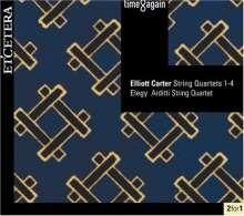 Elliott Carter (1908-2012): Streichquartette Nr.1-4, 2 CDs