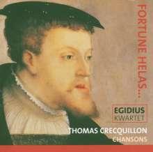 Thomas Crecquillon (1505-1557): Chansons, CD