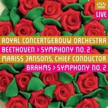 Johannes Brahms (1833-1897): Symphonie Nr.2, SACD