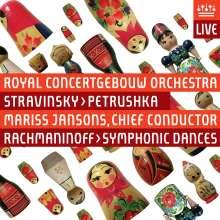 Sergej Rachmaninoff (1873-1943): Symphonische Tänze op.45 Nr.1-3, Super Audio CD