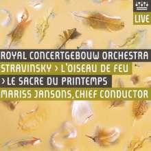 Igor Strawinsky (1882-1971): Der Feuervogel, Super Audio CD