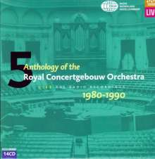 Anthology of the Concertgebouw Orchestra Amsterdam Vol.5, 14 CDs