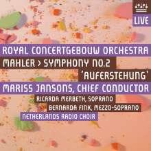 Gustav Mahler (1860-1911): Symphonie Nr.2 (mit DVD), 2 Super Audio CDs