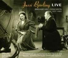 Jussi Björling Live - Broadcast Concertos 1937-1960, 4 CDs