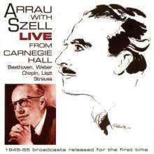 Arrau with Szell - Live From Carnegie Hall, 2 CDs