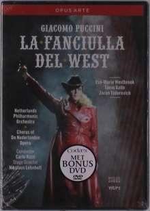 Giacomo Puccini (1858-1924): La Fanciulla del West, DVD
