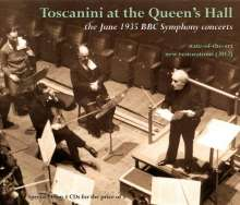 Arturo Toscanini at the Queen's Hall (The Juni 1935 BBC Symphony Concerts), 4 CDs
