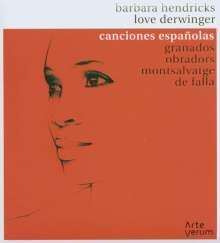 Barbara Hendricks - Canciones espanolas, CD