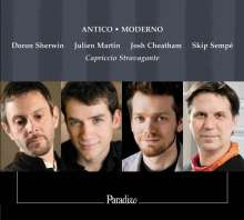 Antico/Moderno - Renaissance Madrigals Embellished, CD