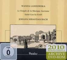 Wanda Landowska - Le Temple de la Musique ancienne, 1 CD und 1 DVD