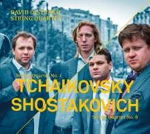Peter Iljitsch Tschaikowsky (1840-1893): Streichquartett Nr.2, CD