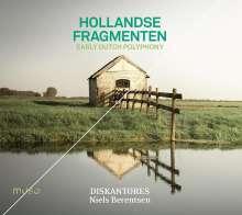 "Early Dutch Polyphony ""Hollandse Fragmenten"", CD"